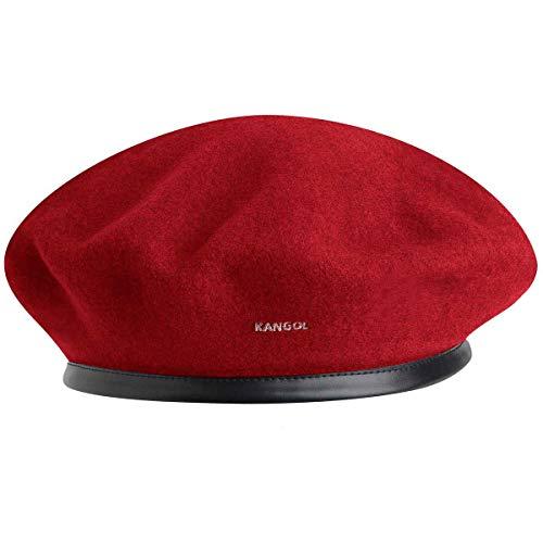 kangol Kangol Damen Baskenmütze Wool Monty, Rot, S