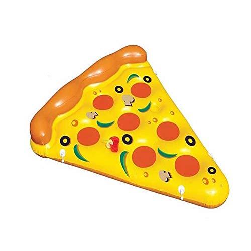 SSDAOO Pizza Floating Row Mount Erwachsene Schwimmring Floating Bett Recliner Swimmingpool Lifebuoy Lounge Spielzeug Für Erwachsene & Kinder