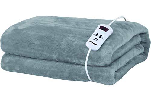 Orbegozo MAH 2000 - Manta térmica, lavable a mano y máquina, 10 niveles de potencia, mando con display LCD, auto-apagado de seguridad, 200x170 cm, 180 W