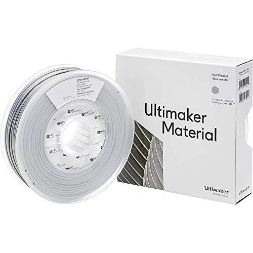 Ultimaker Filament PLA - M0751 Silver Metallic 750 - 211399 PLA 2.85 mm argento (metallic) 750 g