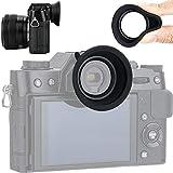 アイカップ 接眼レンズ アイピース Fujifilm X-T30 X-T20 X-T10 XT30 XT20 XT10 対応 ホットシュー装着 シリコン