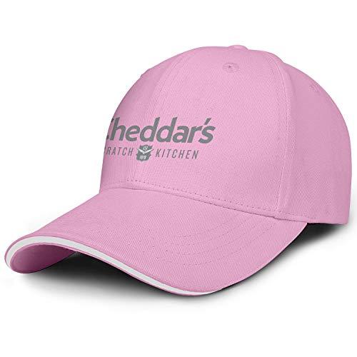 LSHOEJFVG Unisex Mens Cheddar's Scratch Kitchen Gray Hat Baseball Hats Adjustable Outdoor Flat Cap