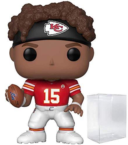 Pop NFL: Kansas City Chiefs - Patrick Mahomes II Pop! Vinyl Figure (Includes Compatible Pop Box Protector Case)