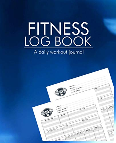 Fitness Log Book A Daily Workout...