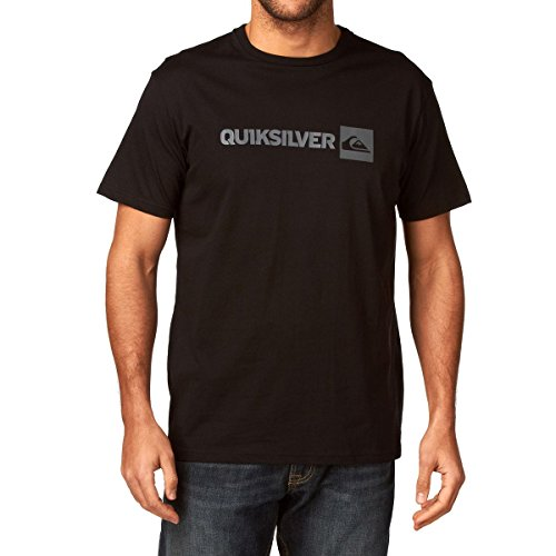 Quiksilver Basic LO tee shirt manches courtes homme Noir L