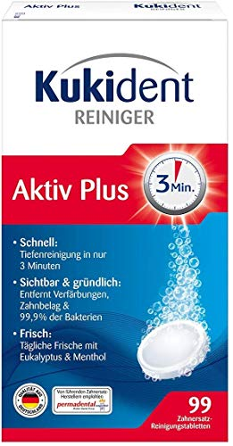 Kukident Aktiv Plus, 99 Tabletten