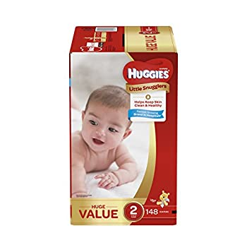 Huggies Little Snugglers Baby Diapers Size 2 148 Count HUGE PACK  Packaging May Vary