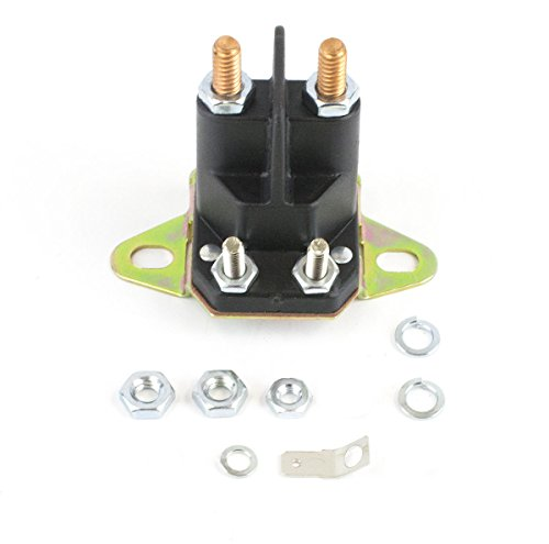 Everest Parts Supplies Starter Solenoid Compatible with OEM John Deere AM132990 AM133094 AM138497 AUC10907 GY00185