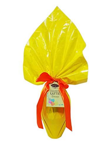 Uovo di Pasqua lavorazione Artigianale cioccolata finissima al latte con sorpresa 260 gr