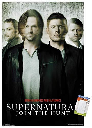 Trends International Supernatural - Key Art 11 Wall Poster, 22.375' x 34', Poster & Mount Bundle