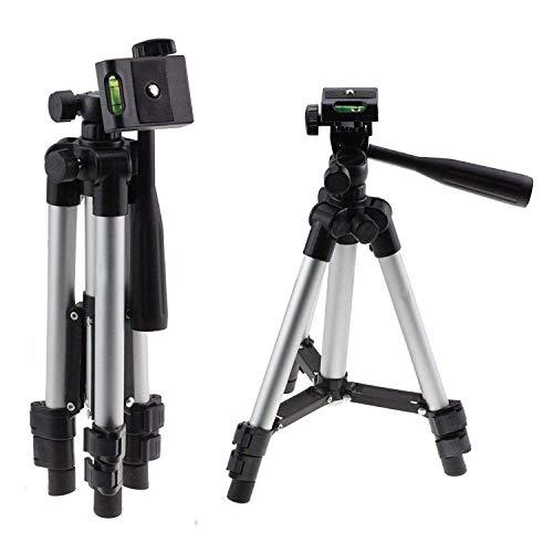 Navitech Trípode De Aluminio Ligero Compatible con la Canon EOS 1300D DSLR Camera