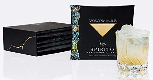 Spirito Cocktails- -MOSCOW MULE- 10cl 14% (Confezione Monodose)