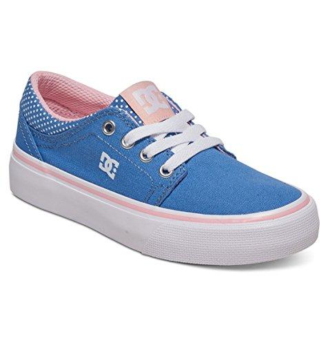 DC Shoes ADGS300060 - Zapatillas de Deporte de Lona Niñas, Multicolor (Multicolor...