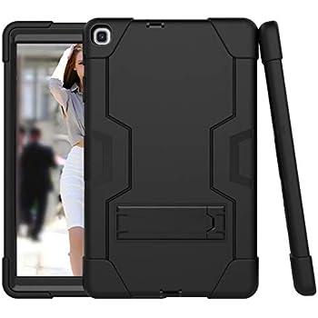 Estuche protector Samsung Galaxy Tab A 10.1 2019, la funda protectora resistente a los golpes 3 en 1 Estuche protector resistente de cuerpo completo, resistente a los golpes y resistente para Samsung (Modelo: SM-T510 SM-T515)