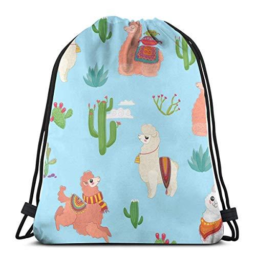 VFBGF Valentine Candy Pattern Gym Bag Travel Drawstring Backpack Men & Women Sport Bag Portable Storage Bag for Camping Hiking Swimming Shopping Beach Travel