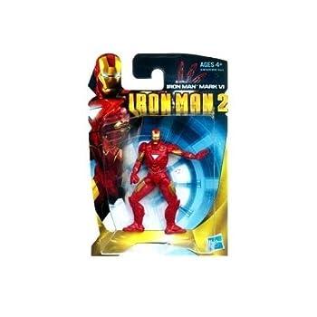 Iron Man 2 Iron Man Mark VI Armor 3-Inch Mini Action Figure by Hasbro