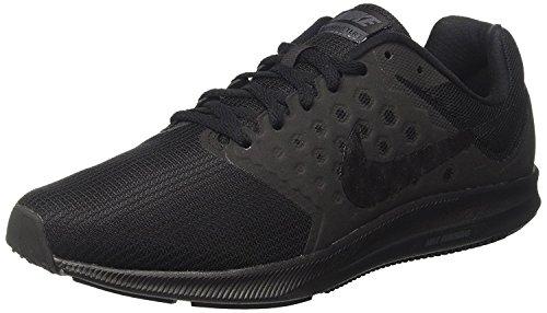 Nike Downshifter 7, Scarpe Running Uomo, Nero (Black / Metallic Hematite / Anthracite), 45 EU