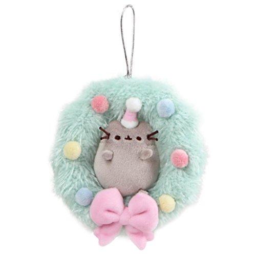 Pusheen GM 7933, Wreath Seasonal Toy, Multicolor
