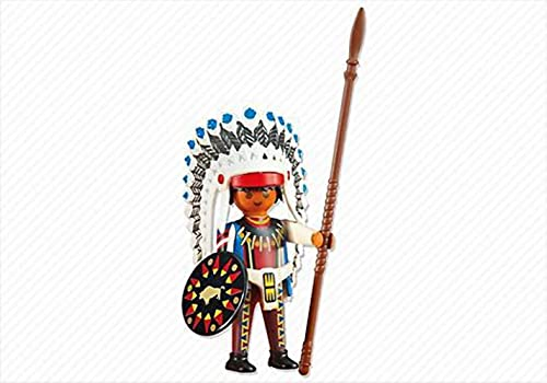 Playmobil 6271 add on Native American Jefe
