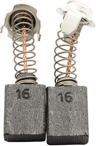 Escobillas de Carbón para HITACHI SB-110 lijadora - 7x13x17mm - 2.8x5.1x6.7'' - Con dispositivo de desconexión