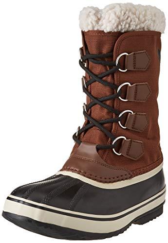 Sorel Męskie buty zimowe, 1964 PAC NYLON, brązowy - Braun Tobacco Black - 44.5 EU