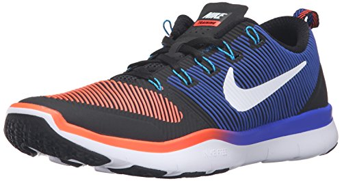 Nike Free Train Versatility, Zapatillas de Senderismo Hombre, Negro (Black/White-Total Crimson-Racer Blue), 41