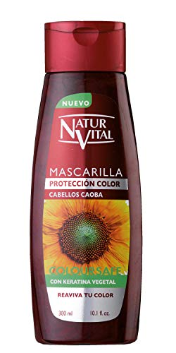 Naturaleza y Vida Mascarilla Coloursafe Caoba - 300 ml
