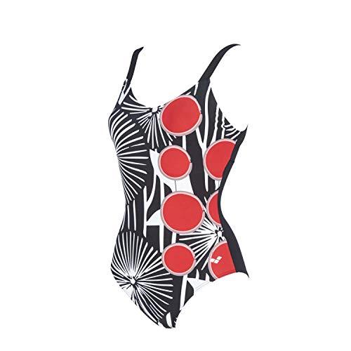 ARENA - Costume da Bagno da Donna Nori C-Cup, Donna, Costume da Bagno, 002970, Nero-Nero, 38