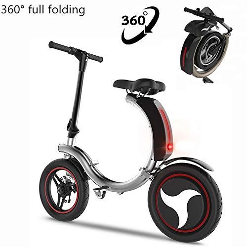 Inklapbaar voor elektrische scooter 14 inch 48 V / 350 W elektrische scooter 30 km met LED-licht en HD-display scooter elektrische volwassenen 2-6.6ah