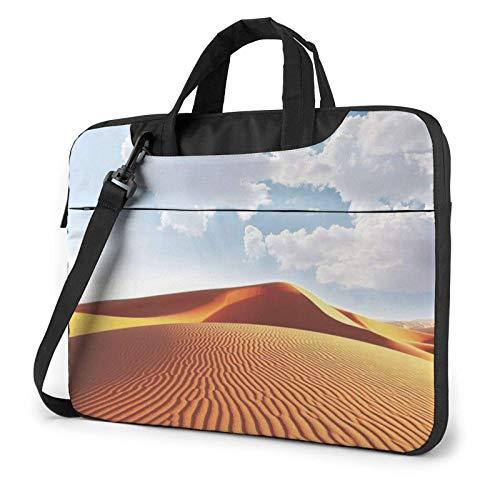 El Desierto imprimió el Bolso de Hombro del Ordenador portátil, maletín del Bolso de Mensajero del Negocio del Bolso de la Caja del Ordenador portátil
