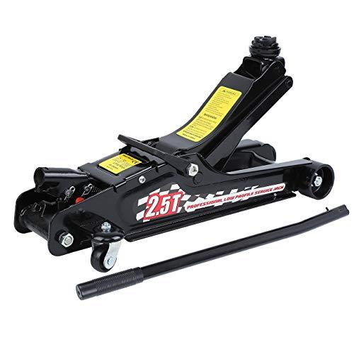 Ambienceo - Carrello idraulico da pavimento, 2,5 tonnellate, per auto, 4 x...