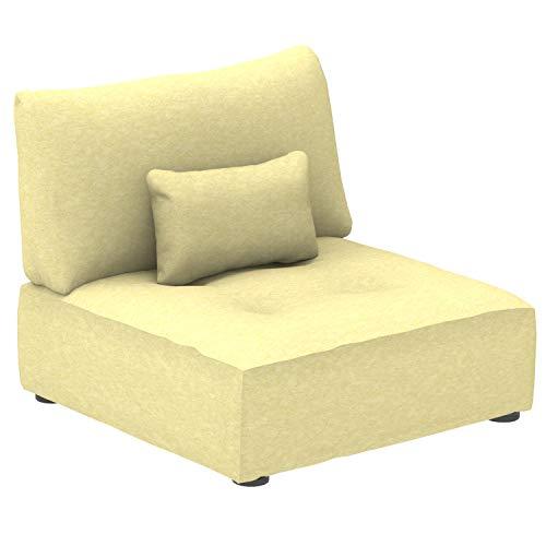 Canapé modulable Tissu Design Confort