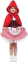 Forever Young Kids Girls Little Caperucita Roja Disfraz de Disfraces de Halloween 3-5 años