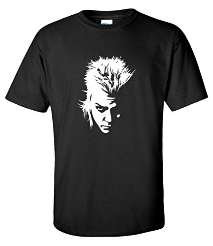 Men's Lost Boys 80s Horror David Vampite Silhouette T-shirt, S to XL
