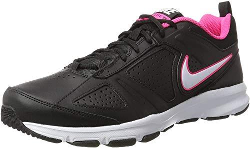 Nike Damen Wmns T-Lite Xi Gymnastikschuhe, Schwarz (Black/White-Hyper Pink-Hyper Pink), 44.5 EU