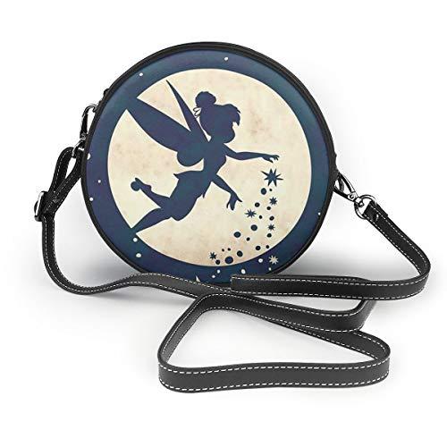RGLHM Tinkerbell Damen Handtasche Crossbody Schultertasche Leder Tasche Casual Mini Schultertasche