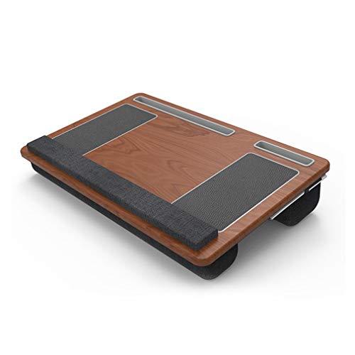 TYAWY Laptopunterlage für Bett, Laptop Kissen, Laptop Tablett mit Mausunterlage Handgelenkauflage Stift Tablett Telefon...