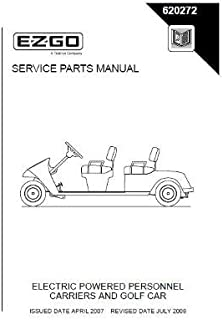 ezgo electric golf cart manual