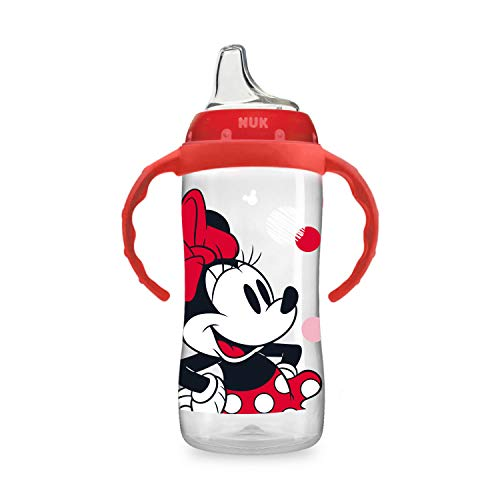 NUK Disney Large Learner Sippy Cup, Minnie Mouse, 10 Oz 1Pack