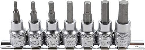 1/lot de 12/pi/èces magn/étique Tournevis Torx Bits en acier S2/1//10,2/cm Tige hexagonale 50/mm de long