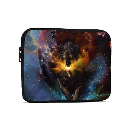 Fire Wolf Tablet Bag, Premium Universal Sturdy Shockproof Laptop Sleeve, Notebook Case Protective Handbag Fit 7.9'/9.7' Tablets/Ipads/Readers