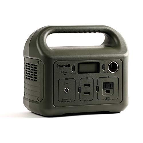 SmartTap ポータブル電源 PowerArQ mini オリーブドラブ (346Wh / 93,600mAh / 3.6V / 正弦波 蓄電池) 正規保証1年