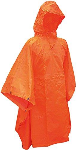 Inconnu Poncho imperméable Orange