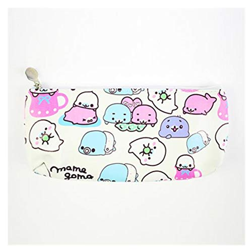 KAERMA 1 stuk nieuw PU dier wekker potlood tas schrijfwaren pennendoos schrijfwaren geschenk Cartoon Big Capacity Bag