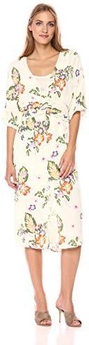 VERO MODA Women's Bloom Kimono Dress