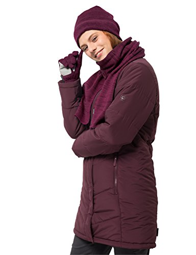 Jack Wolfskin Aquila Scarf Gants pour Temps Froid, Amethyst, One Size Mixte