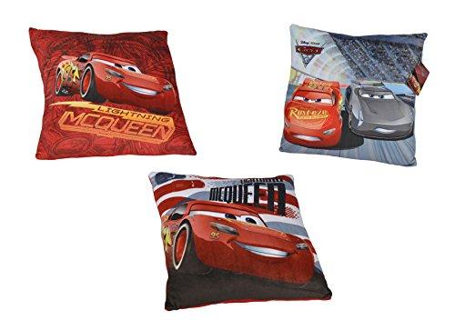 Disney Cars 3 Lightning McQueen Kissen ca.30cm Kuschelkissen Dekokissen sortiert