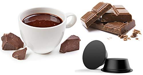 CiaoCaffè Capsule Cioccolato al Gianduia Compatibili Lavazza A Modo Mio (50)
