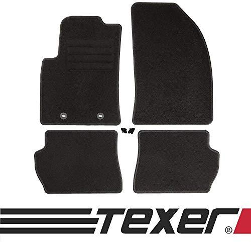 CARMAT TEXER Textil Fußmatten Passend für Ford Fiesta V Bj. 2004-2008 Basic