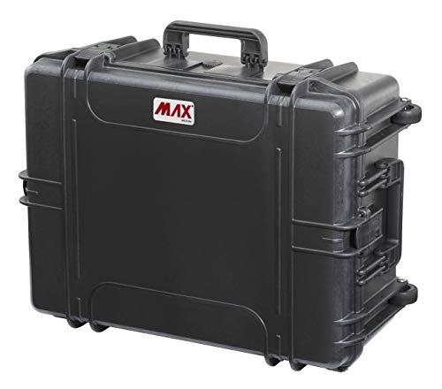 Max Cases - valigetta Vuota a Tenuta Stagna, Ermetica per Trasportare e Proteggere Apparecchiature e Materiali Sensibili, MAX620H250V, Dimensioni Interne 620 x 460 x 250 mm